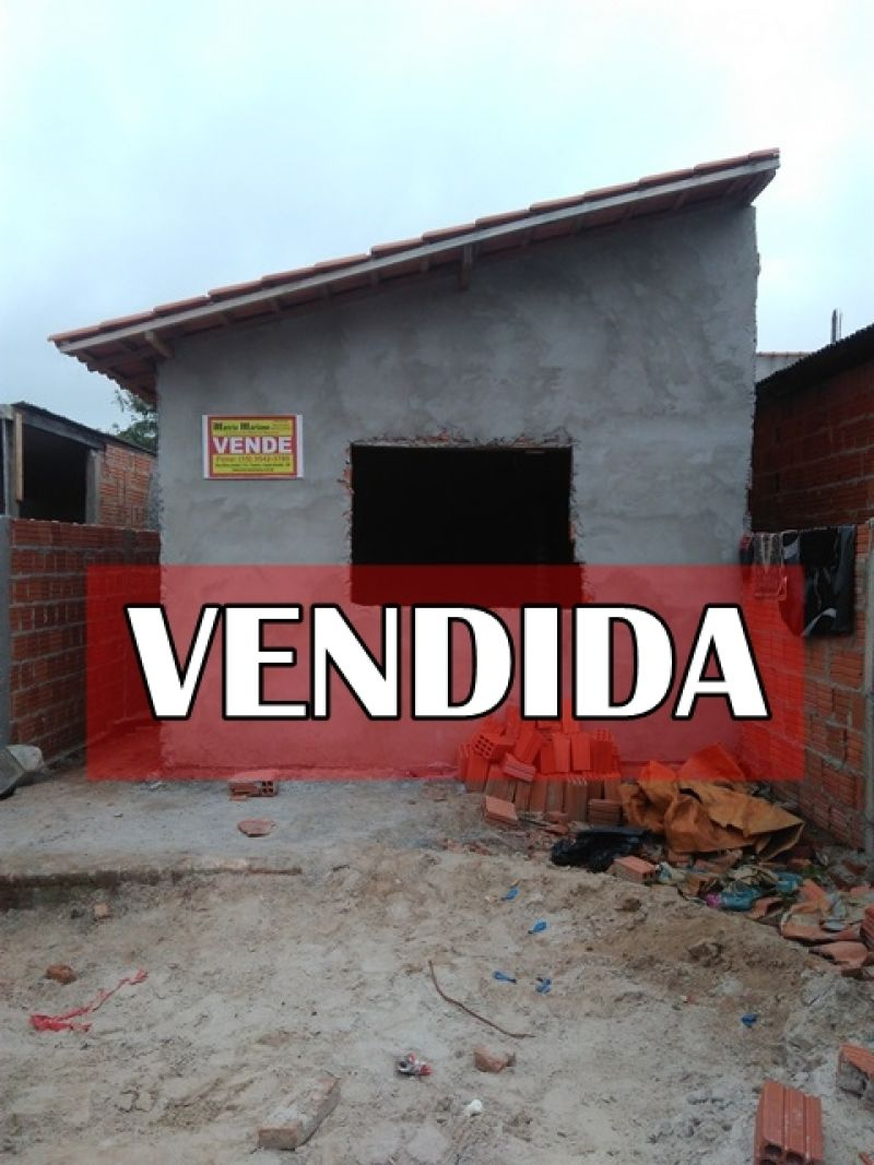 ÓTIMA CASA SEMI CONSTRUÍDA